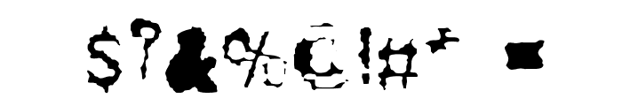 Drugstore_Waltz Font OTHER CHARS