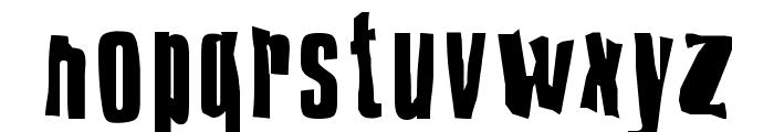 Druillet Font LOWERCASE