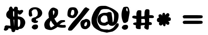 Drukaatie burti resni Font OTHER CHARS