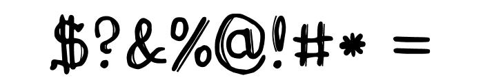 Drukaatie burti Font OTHER CHARS