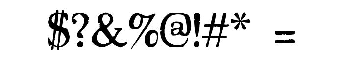 Drukarnia Polska Font OTHER CHARS