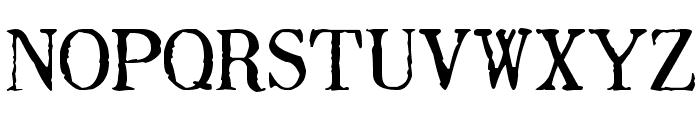 Drukarnia Polska Font UPPERCASE