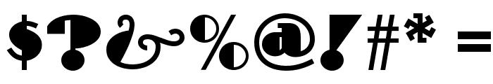 Drumag Studio NF Font OTHER CHARS
