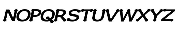 Drummon Bold Italic Font UPPERCASE
