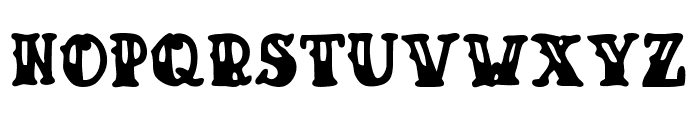 Drunk Sailor Font UPPERCASE