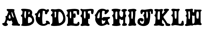 Drunk Sailor Font LOWERCASE
