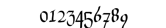 Drunken Calligrapher Font OTHER CHARS