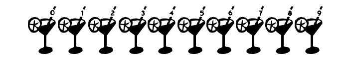 Dry Martini Font OTHER CHARS
