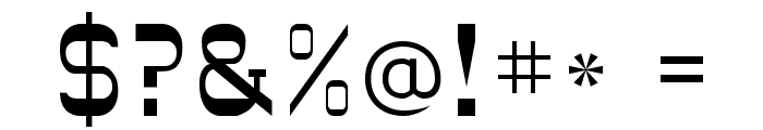 DryGulchFLF Font OTHER CHARS