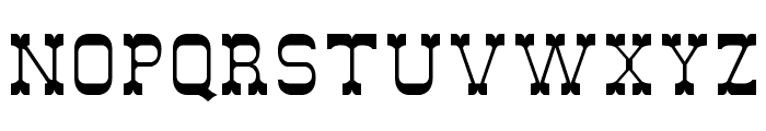 DryGulchFLF Font UPPERCASE