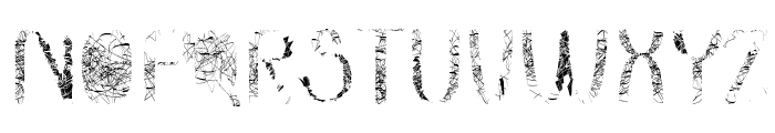 dreamcatcher Font UPPERCASE