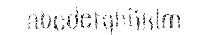dreamcatcher Font LOWERCASE