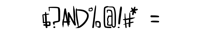 dreamgirl's dream Font OTHER CHARS