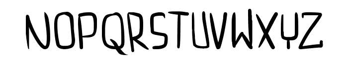 dreamgirl's dream Font LOWERCASE
