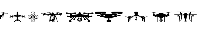 drone Font OTHER CHARS