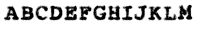 Dr 066 Regular Font UPPERCASE