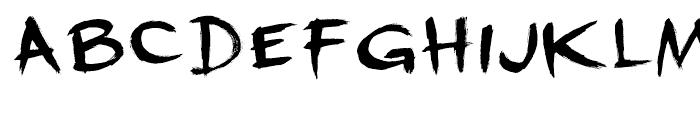 Dreadnought Regular Font LOWERCASE