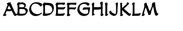 Dreamland Intl Regular Font LOWERCASE