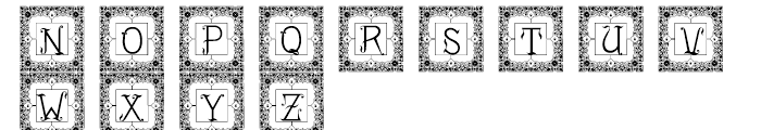 Drianh Decorative 2 Font UPPERCASE