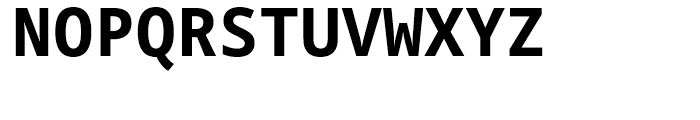 Droid Sans Mono WGL Bold Font UPPERCASE