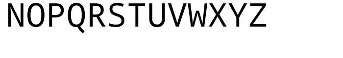 Droid Sans Mono WGL Regular Font UPPERCASE