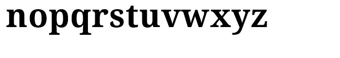 Droid Serif WGL Bold Font LOWERCASE