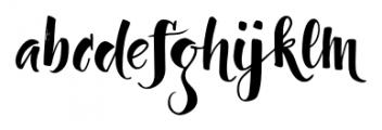 Dragonflight Pro Regular Font LOWERCASE