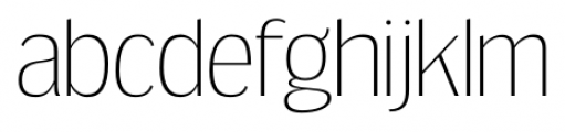 Dream Orphanage ExtraLight Font LOWERCASE