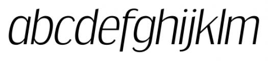 Dream Orphanage Light Italic Font LOWERCASE