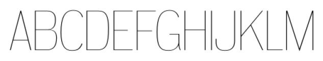 Dream Orphanage UltraLight Font UPPERCASE