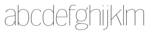 Dream Orphanage UltraLight Font LOWERCASE