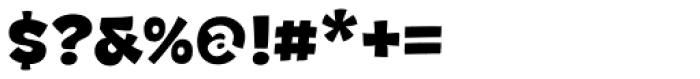 DR Agu Sans Black Font OTHER CHARS