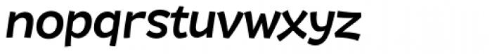 DR Agu Sans Medium Italic Font LOWERCASE