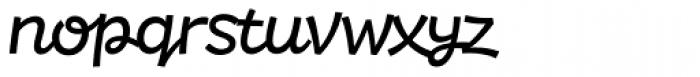 DR Agu Script Book Font LOWERCASE