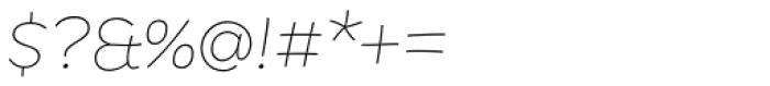 DR Agu Script Thin Font OTHER CHARS