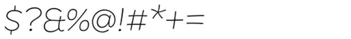 DR Agu Script Ultra Light Font OTHER CHARS