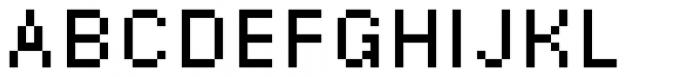 DR Krapka Square Font Size10 px Font UPPERCASE