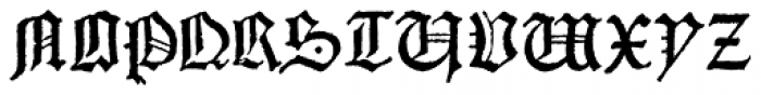 Dractura Font UPPERCASE