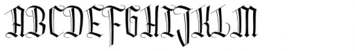 Dracula Light Font UPPERCASE