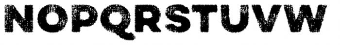 Draft Natural A Black Font UPPERCASE