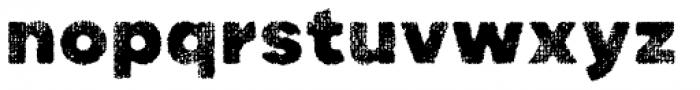 Draft Natural A Black Font LOWERCASE