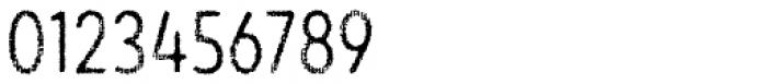 Draft Natural F Regular Font OTHER CHARS