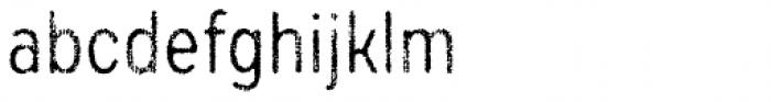Draft Natural F Regular Font LOWERCASE
