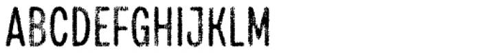 Draft Natural H Medium Font UPPERCASE
