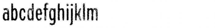 Draft Natural H Medium Font LOWERCASE