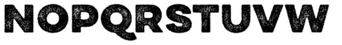 Draft Natural HiRes A Black Font UPPERCASE