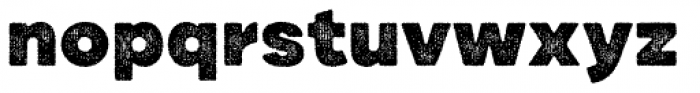 Draft Natural HiRes A Black Font LOWERCASE
