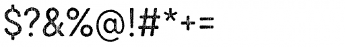 Draft Natural HiResTwo D Regular Font OTHER CHARS