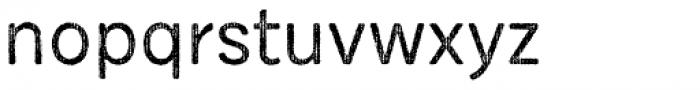 Draft Natural HiResTwo D Regular Font LOWERCASE