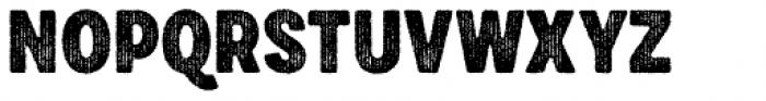 Draft Natural HiResTwo F Black Font UPPERCASE